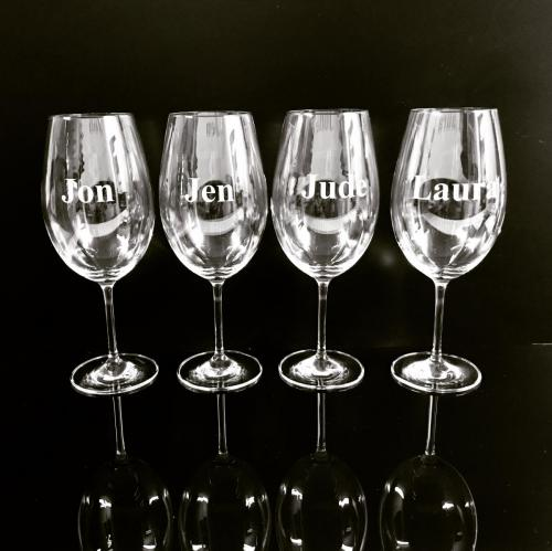 Specialty glass engraving