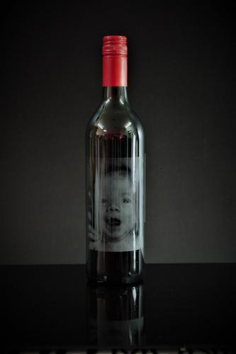 Engraved wine bottles for special occasions